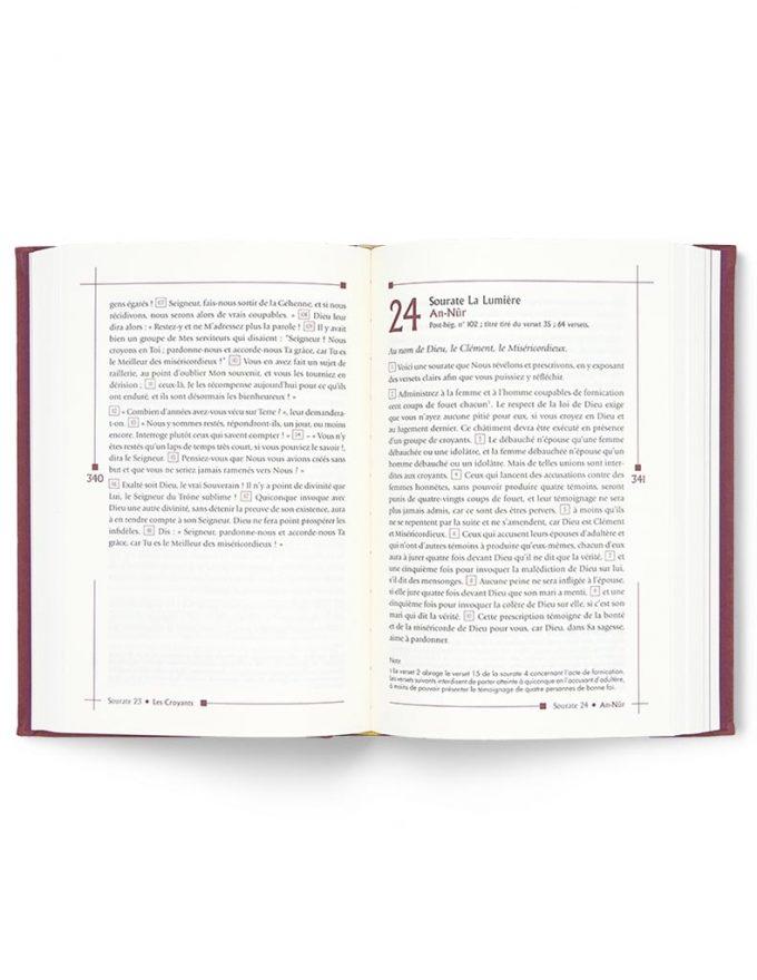 Le Noble Coran Classique (Version française)