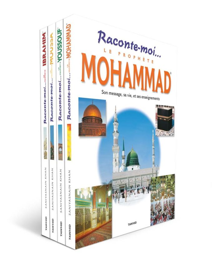 Pack Raconte-moi... (4 livres)