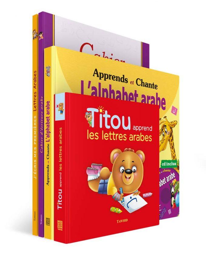 Pack J'apprends l'arabe